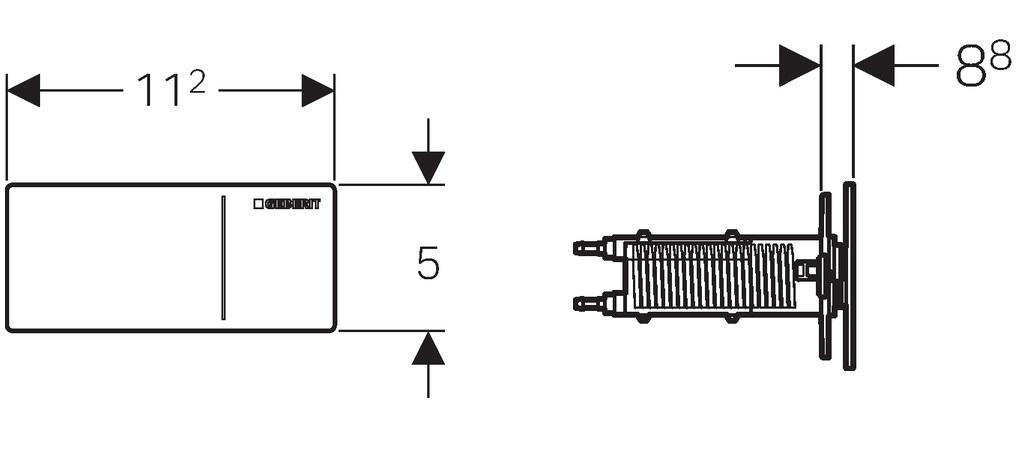 geberit sigma 70 zdalny przycisk sp ukuj cy szk o bia e bateriaplus. Black Bedroom Furniture Sets. Home Design Ideas