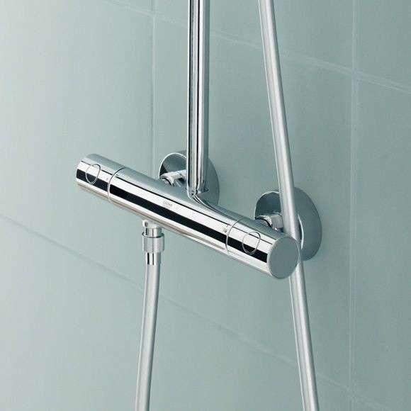 showerpipe zestaw prysznicowy 27296001 euphoria bateriaplus. Black Bedroom Furniture Sets. Home Design Ideas