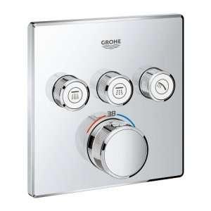 Podtynkowy termostat na 3 odbiorniki Grohe 29126000