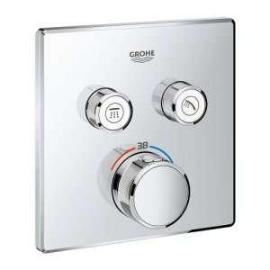 Bateria wannowa termostatyczna podtynkowa Grohtherm 29124