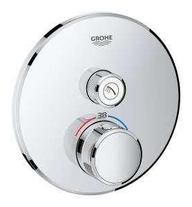 Podtynkowy termostat do 1 odbiornika Grohe Grohtherm Smartcontrol 29118000