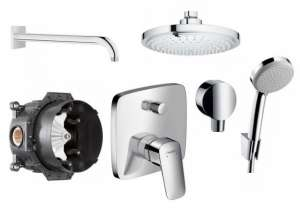 Shower set Hansgrohe Logis 180