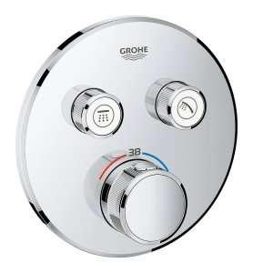 Bateria z termostatem podtynkowym Grohe 29119000