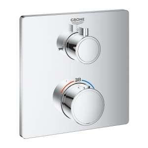 Podtynkowa bateria termostatyczna Grohe do 2 odbiorników 24080000