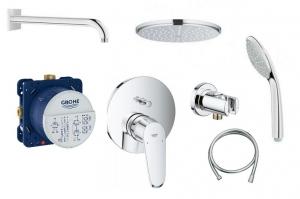 Podtynkowy zestaw prysznicowy Eurodisc Cosmopolitan 210