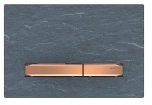 Przycisk Geberit Sigma50 do UP320 łupek Mustang/ czerwone złoto 115.670.JM.2