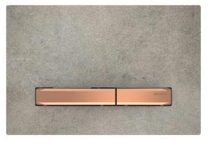 Przycisk Geberit Sigma50 do UP320 imitacja betonu/czerwone złoto 115.670.JV.2