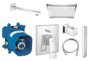 Grohe Eurocube shower set E240