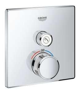 Podtynkowy termostat do 1 odbiornika Grohe Smartcontrol 29123000