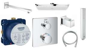 Shower set Grohe Grohtherm Square 230