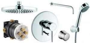 Kludi Bozz podtynkowy zestaw prysznicowy 250