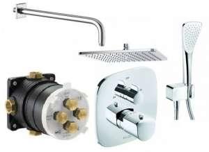Termostatyczny zestaw prysznicowy Kludi Ameo 300
