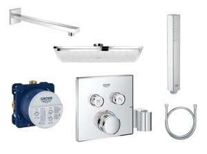 Komplet podtynkowy z termostatem Smartcontrol 230