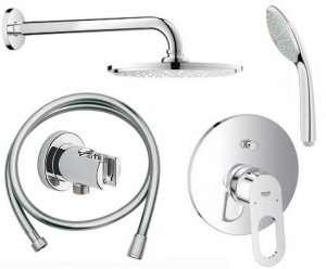 Podtynkowy zestaw prysznicowy Grohe Bauloop