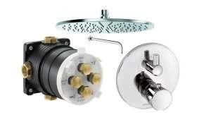Termostatyczny zestaw prysznicowy Kludi BAlance XXL