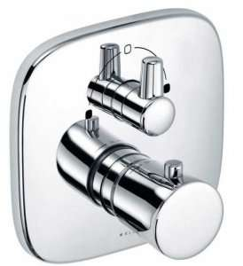 Kludi Ambienta 538300575 termostatyczna podtynkowa bateria wannowa
