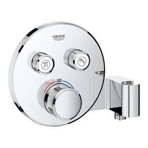 Podtynkowa bateria do 2 odbiorników z termostatem Grohe 29120