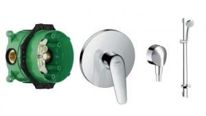 Shower set Hansgrohe Novus Croma L-900
