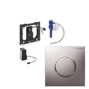 GEBERIT SIGMA10 IR elektroniczny zawór spłukujący do pisuaru mat/chrom/mat 230V 116.025.KN.1