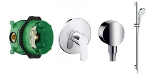 Hansgrohe Metris Puro Mono shower set