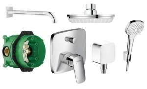 Pakiet podtynkowy Hansgrohe Logis 150