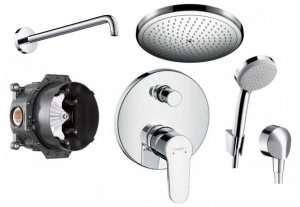 Podtynkowy zestaw prysznicowy Hansgrohe Talis Puro 280