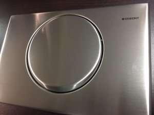 Metalowy przycisk Geberit Delta 15 115101001