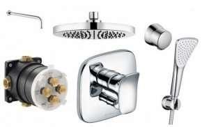 Kompletny podtynkowy zestaw prysznicowy Kludi Ambienta
