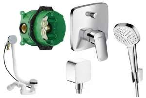 Hansgrohe Logis podtynkowy system do wanny