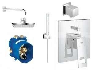 Podtynkowy zestaw prysznicowy Grohe Eurocube 150