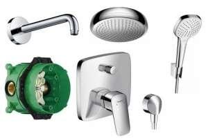 System podtynkowy do prysznica Hansgrohe Logis 160