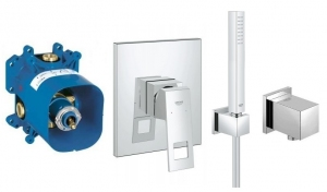 Podtynkowy komplet Grohe Eurocube Mono