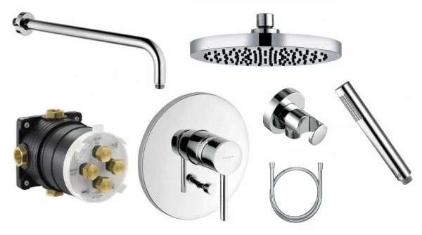 Kludi Bozz podtynkowy pakiet prysznicowy z deszczownicą 20cm Kl/Bozz/200-image_Kludi_KL/BOZZ/200_1