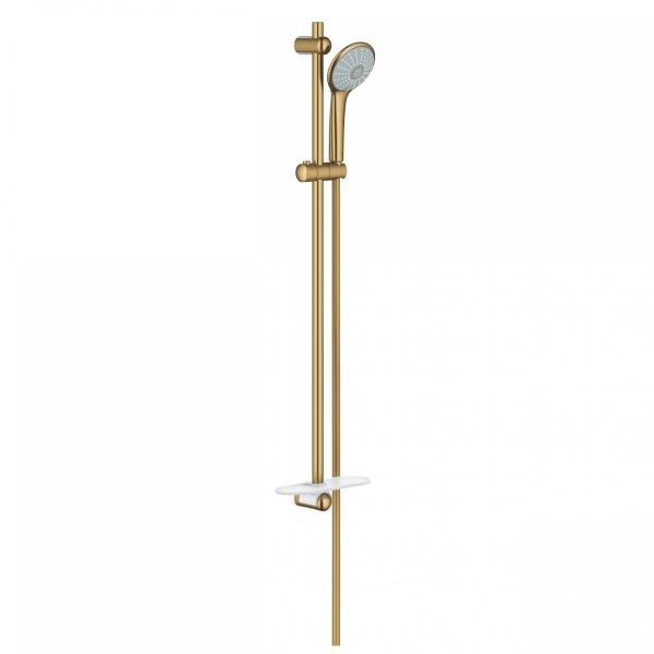 Zestaw natryskowy w wersji szczotkowane złoto Grohe Euphoria 27226GN1.