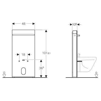 Rysunek techniczny Monolitha-image_Geberit_131.030.SI.5_4