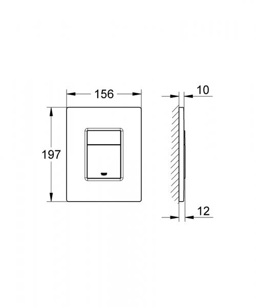 Dane techniczne przycisku Skate Cosmopolitan-image_Grohe_38732DA0_4
