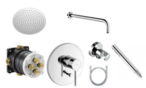Kludi Bozz pakiet prysznicowy z deszczownicą 30cm-image_Kludi_386500576_1
