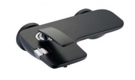 Kludi Balance bateria wannowo-prysznicowa ścienna czarny mat 524458775-image_Hansgrohe_16884000_1