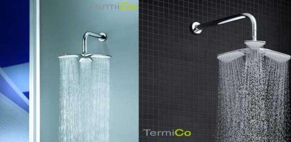 Wizualizacja deszczownicy KLudi Fizz która znajduje sie w podtynkowym zestawie prysznicowym Kludi Fizz.-image_Kludi_KL/BALANCE/FIZZ_3