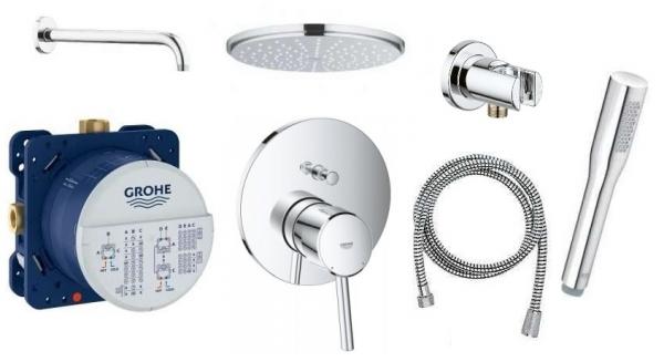 Grohe Concetto podtynkowy zestaw prysznicowy z deszczownicą 210-image_Grohe_GR/CONCETTO/210_1