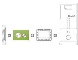 Schemat zlicowania przycisku ze ścianą -image_Tece_9.240.659_3