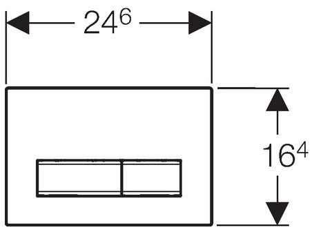 Rysunek techniczny uniwersalnego przycisku spłukującego Geberit Sigma 50 115788005-image_Geberit_115.788.00.5_4