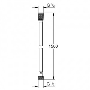 Dane techniczne węża Grohe Silverflex 26346000-image_Grohe_26346000_2