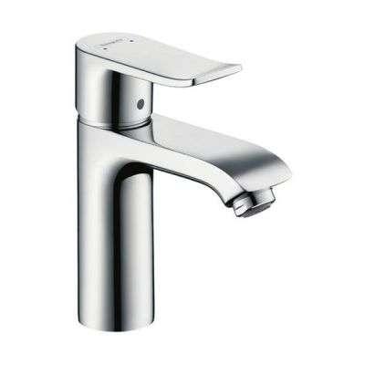 Bateria umywalkowa Hansgrohe Metris E 31084000, bez korka automatycznego-image_Hansgrohe_31084000_3