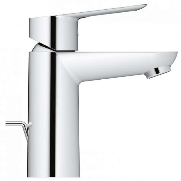 Kran do umywalki Grohe Bauloop 23335000 z korkiem, fotka z profilu-image_Grohe_23335000_6