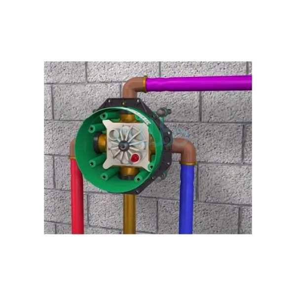 Obrazek z podłączeniem wody do Iboxa 01800180-image_Hansgrohe_01800180_9