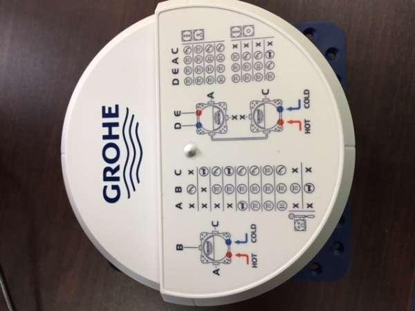 Frontowy widok puszki podtynkowej Grohe Smartbox 35600000-image_Grohe_35600000_3