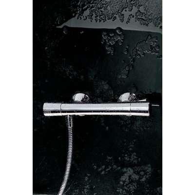 Aranżacja ściennej baterii termostatycznej do prysznica Kludi Zenta 351000538 w wersji chrom.-image_Kludi_351000538_5