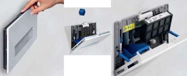 Sposób uzupełniania kostek higienicznych w przyciskach Geberit Sigam40.-image_Geberit_115.600.KQ.1_6