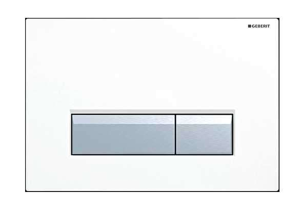 Przycisk uruchamiający spłukiwanie Geberit Sigma40 w spłuczkach podtynkowych Geberita z odciągiem bocznym.-image_Geberit_115.600.KQ.1_3